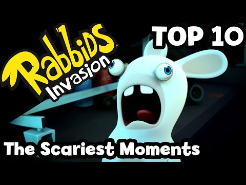Rabbids Invasion - Najstrašidelnejšie momenty