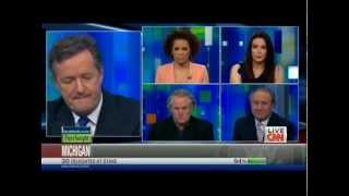 Carol Roth & Piers Morgan Auto Bailout Throwdown Round 2 CNN