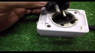 Sustitución de enchufe quemado por caja de enchufes múltiple