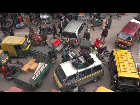 CRAZY INDIAN TRAFFIC CONGESTION