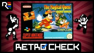 Retro Check: The Magical Quest: Starring Mickey Mouse