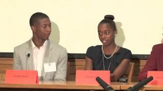 Student Panel on Reading: (2 min)