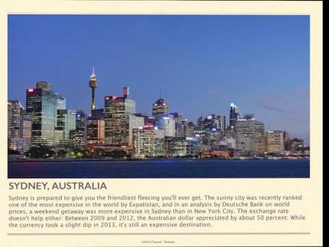 World's Most Expensive Cities 2013