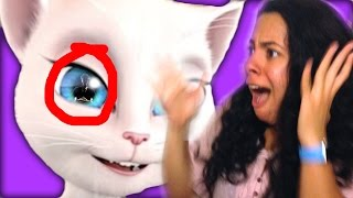 FINDING OUT TALKING ANGELA'S SECRETS! Is she dangerous? (Mystery Gaming)