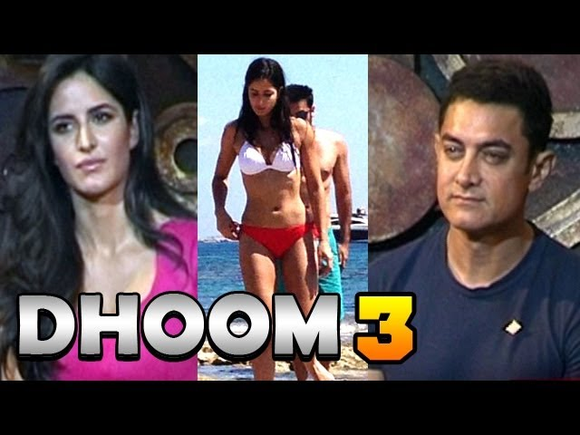 Dhoom 3 - Aamir Khan & Katrina Kaif talk about Salman Khan & Katrina Kaif's Bikini Picture & more