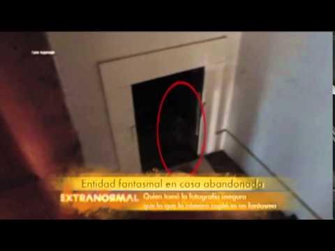 Fantasma en casa abandonada