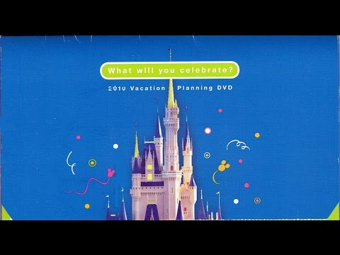 2010 Walt Disney World Vacation Planning DVD - What Will You Celebrate? - InteractiveWDW