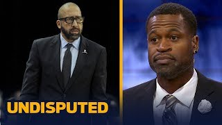 Stephen Jackson with a strong message for Chandler Parsons after David Fizdale's firing | UNDISPUTED