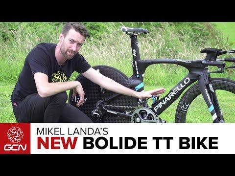 Mikel Landa's NEW Pinarello Bolide Time Trial Bike