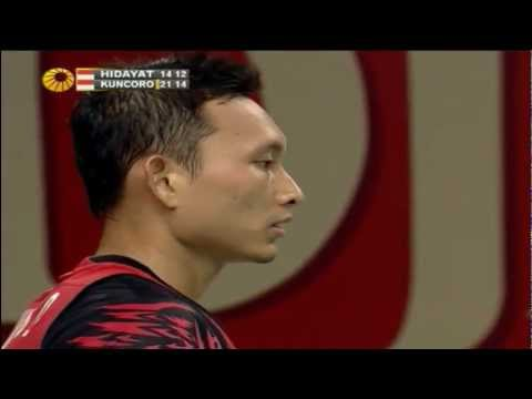 R16 - MS - Sony Dwi Kuncoro vs Taufik Hidayat - 2012 Djarum Indonesia Open