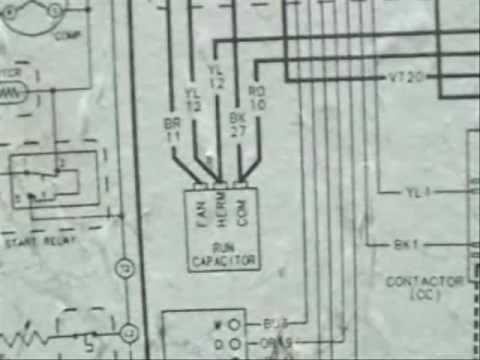 Watch on wiring diagram for a contactor