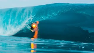 Surfing on Fire