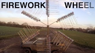 Rocket Powered Fireworks Wheel