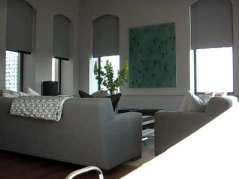 Arched Windows Hidden Pockets For Dual Motorized Shades By Dl Solutions Youtube