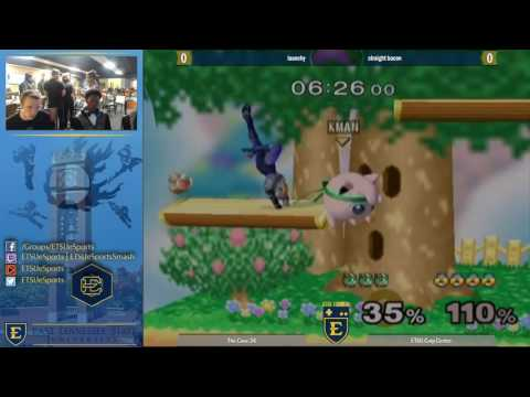 The Cave 24 Melee Singles - Spike vs PatP3