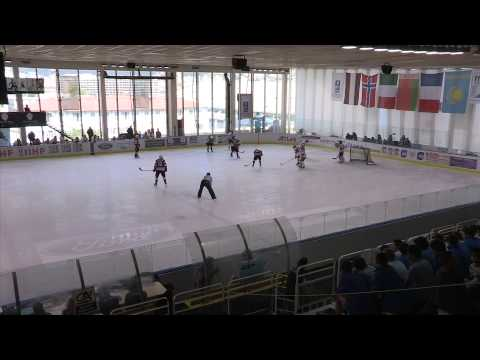 2014 IIHF ICE HOCKEY U18 WORLD CHAMPIONSHIP Div. I Group A, Latvia Belarus 3rd period