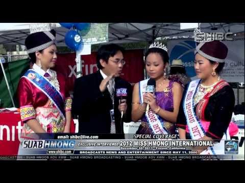 Suab Hmong News:  Exclusive Interviewed 2012 Miss Hmong International