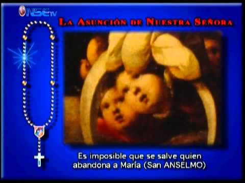 Rezo del Santo Rosario Misterios Gloriosos - YouTube
