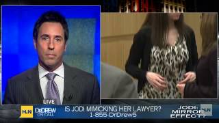 Is Jodi Arias mimicking her lawyer?