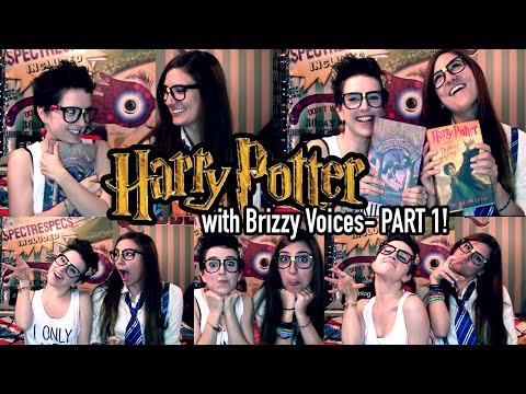 HARRY POTTER with Brizzy Voices- PART 1 | Geek With Me