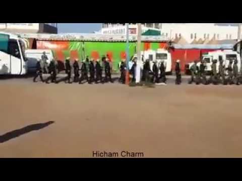 تطويق محتجين بمركز بوكيدان عشية اليوم