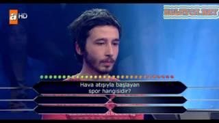 Kim milyoner olmak ister 206. bölüm 18.04.2013 uğur türk