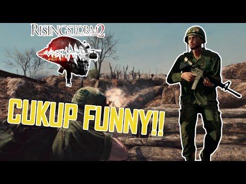 CUKUP FUNNY INI GAME!! - Rising Storm 2 Vietnam Gameplay Indonesia