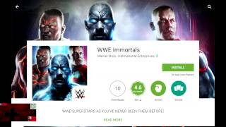 WWE Immortals How To Search For And Download It On