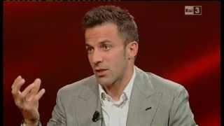 """29/04/2012 - Alex Del Piero a """"Che tempo che fa"""": """"Epilogo Juve? Ad oggi, per come stanno le cose, sì"""""""