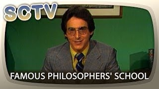 SCTV: Famous Philosophers' School ft Harold Ramis