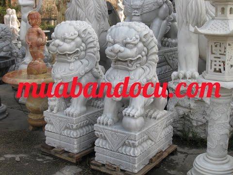 Cặp kỳ lân đá non nước Đà Nẵng- Mua bán đồ cũ