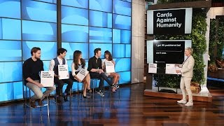 The Cast of 'Glee' Plays Cards Against Humanity