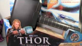 Thor Movie Lightning Hammer & Thor Helmet Armor Of Asgard