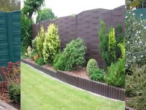 Pose de cl ture en b ton pr sent s par l 39 entreprise dl jardin youtube - Prix d une cloture de jardin ...