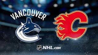 Vanek, Markstrom lead Canucks past Flames, 5-3