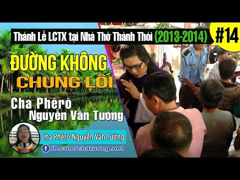 14.ĐƯỜNG KHÔNG CHUNG LỐI,Cha Phêrô Nguyễn Văn Tường,TuongTienTrung.Net,Thánh Lễ Lòng Chúa Thương Xót