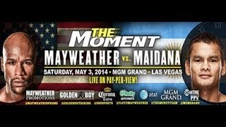 Floyd Mayweather Vs. Marcos Maidana The Moment May 3rd MGM