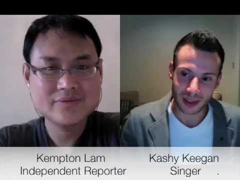 Kashy Keegan post Hong Kong concerts interview from UK