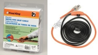 Frost King Electric Heat Cable Kit
