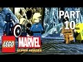 Lego Marvel Super Heroes Walkthrough - Part 10 THOR & LOKI - PS4 Gameplay