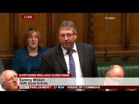 Sammy Wilson   Banks forcing Businesses to the wall