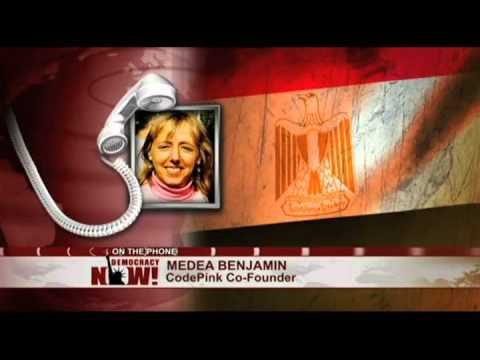 Medea Benjamin Detained in Egypt and Arm Broken by Police