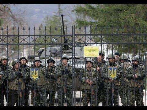 Russian Troops Surround Special Forces Base and Take Ammunition Depo - Naval Base Empty