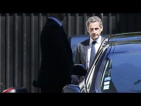 Garde à vue de Nicolas Sarkozy :
