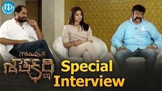 Gautamiputra Satakarni Movie Full Special Interview || Balakrishna || Shriya Saran || Krish