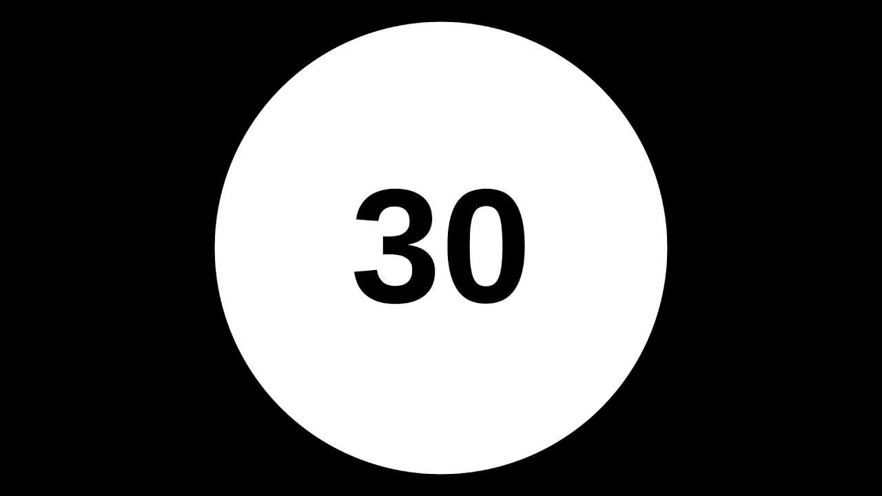 interval timer 30 seconds