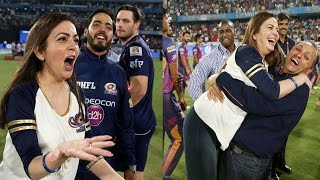 Watch: IPL-10 Owner Nita Ambani Celebrates The Victory Of ..