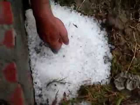 Snow in Faisalabad, Pakistan  2