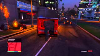 GTA 5: HOW TO BECOME THE HULK (Funny GTA V Cheat/Glitch