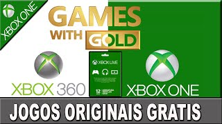 Jogos Originais Gratis- Xbox One E Xbox 360 Games With